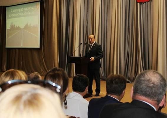 Мэр Тулы вручил отличившимся дорожникам Почетные грамоты и Благодарности