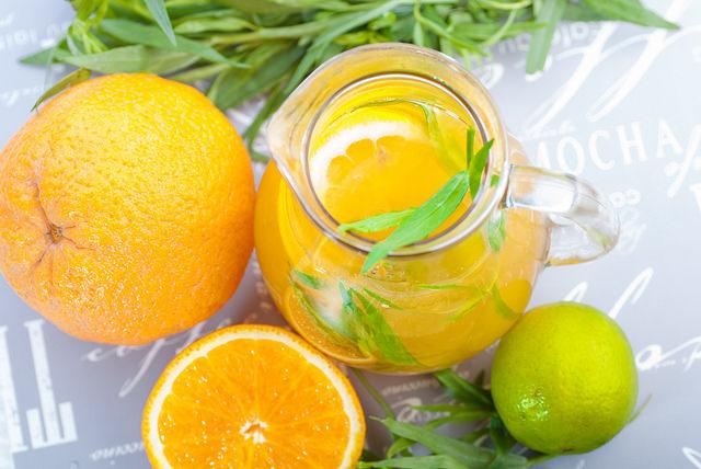 Как приготовить лимонад из лимона и апельсина