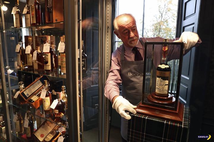 Бутылка виски за $1,100,000