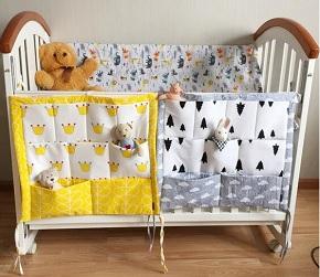 Органайзер для детской кроватки. Шить легко и просто