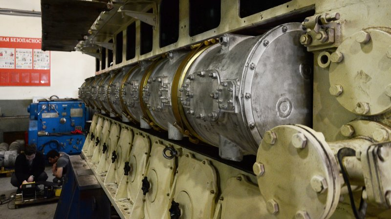 """Кингисеппский машзавод заявил о готовности отремонтировать все двигатели спасателя """"Алагез"""""""