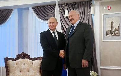 Путин и Лукашенко встретились в Могилеве. Главное