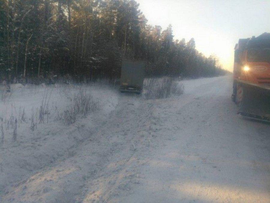 Дальнобойщик 500 километров ехал с обмороженными руками…