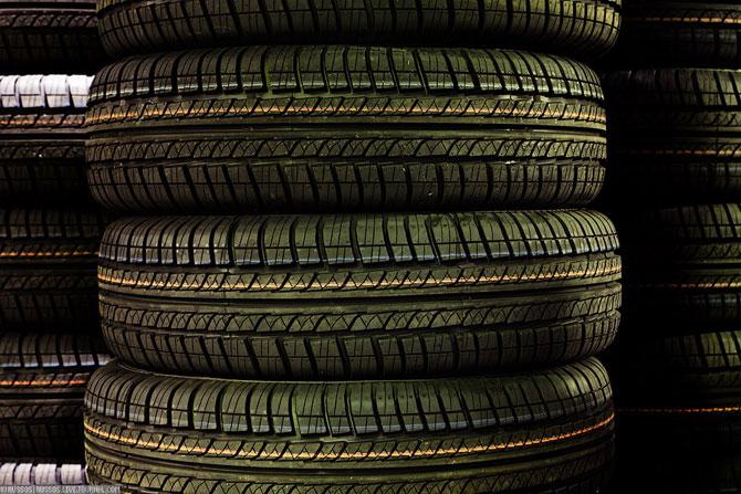 Как делают шины