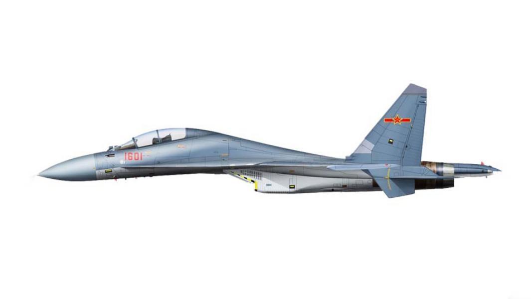 «Китайский Су-30» — J-16