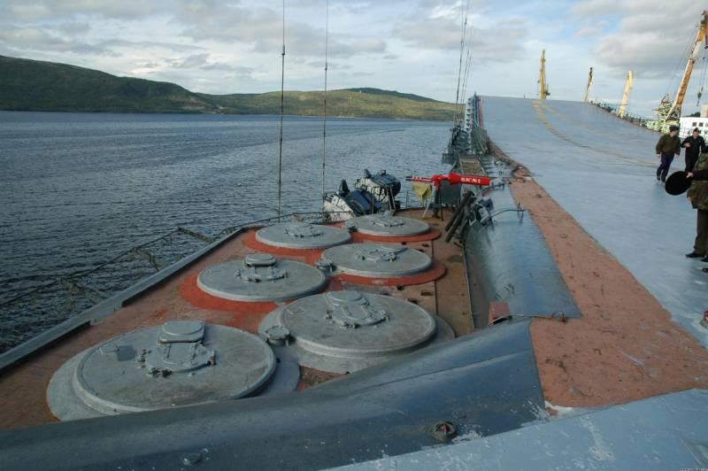 Боевая устойчивость обновлённого «Адмирала Кузнецова» на океанском ТВД. Все ли проблемы решит 3С14 УКСК? Часть 2