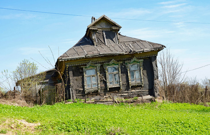 Здания, мосты, церкви, заводы… Заброшенная Россия