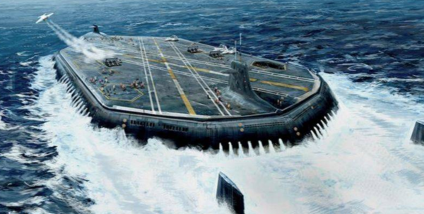 Вероятно так себе представляют в НАТО секретный флот России