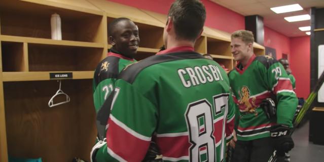 Сидни Кросби сыграл за кенийскую хоккейную команду. Видео