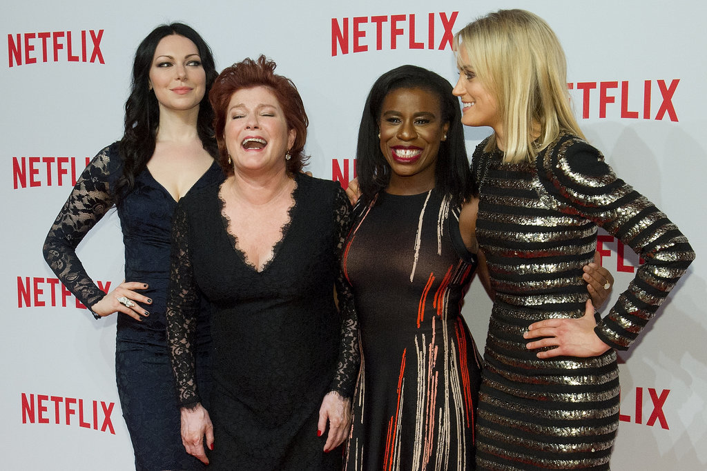 Laura Prepon, Kate Mulgrew, Uzo Aduba, and Taylor Schilling