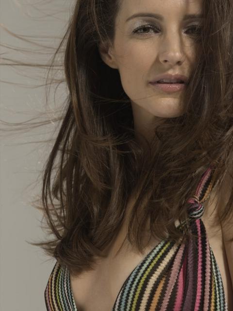 Кристин Дэвис  в фотосессии Дона Флада  для журнала InStyle