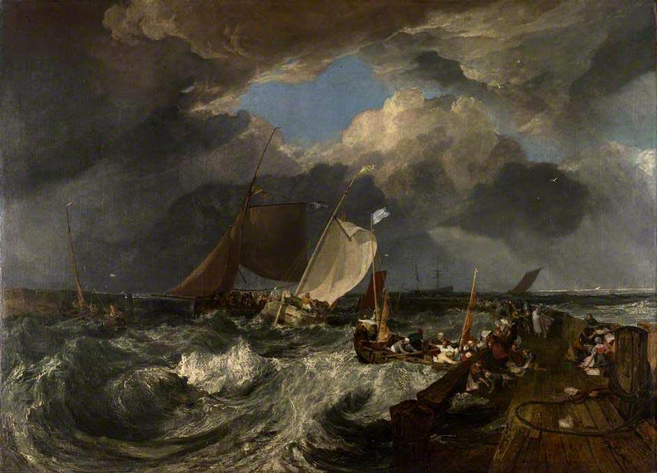 Корабли в живописи. Уильям Тёрнер.
