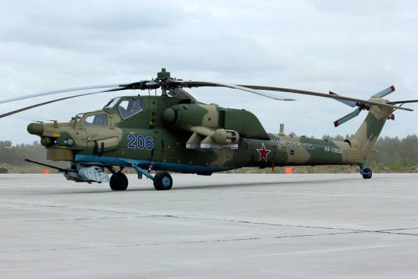 Армейская авиация на поле боя