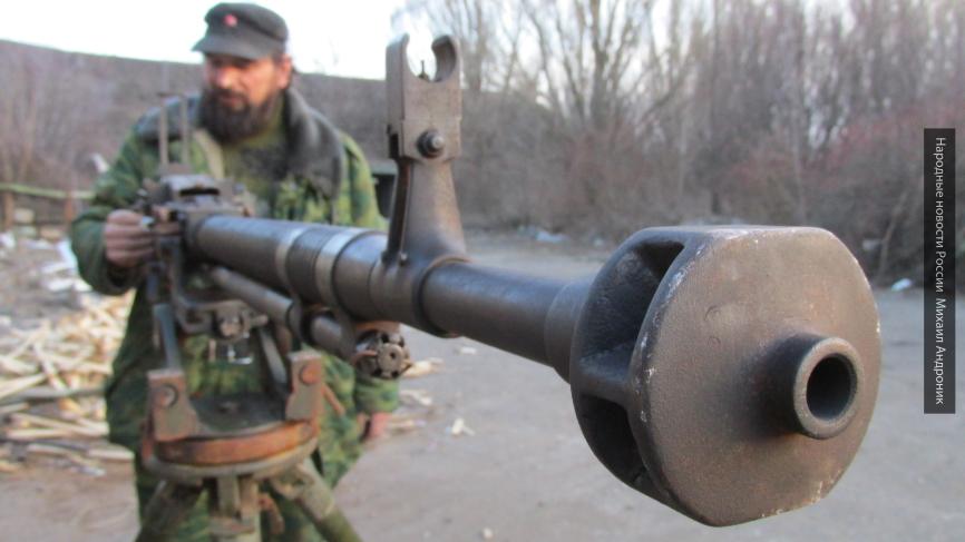Ополчение ответило огнем на провокации ВСУ на Донбассе