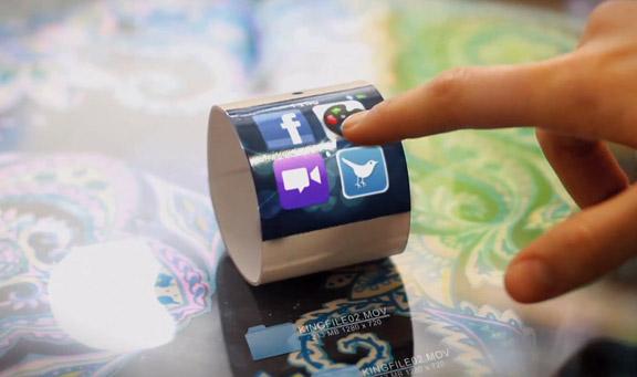 Фантастический концепт «умных» часов Apple с голографическим интерфейсом