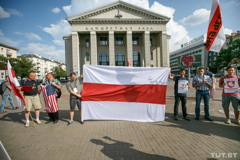БНФ требует выгнать русских из Белоруссии