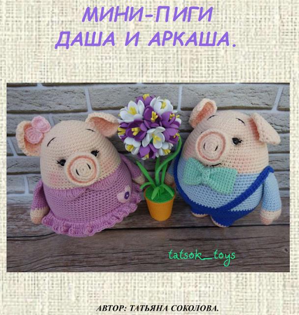 Мини-пиги Даша и Аркаша - Си…