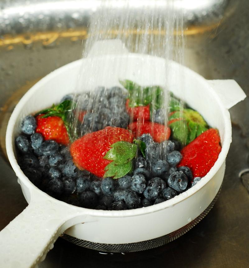 ягодный тарт со сметанной заливкой