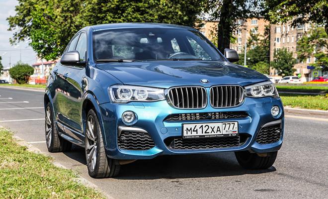 Тест-драйв: BMW X4 M40i