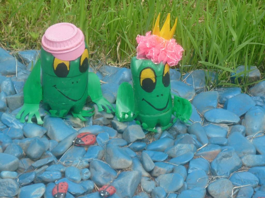Поделки из пластиковых бутылок для детей детского сада 68
