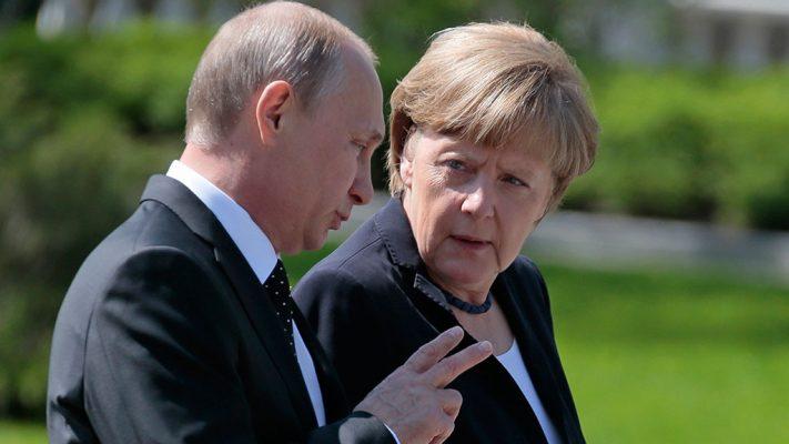 Украинские СМИ о визите Путина в Германию: Россия выдвинула Европе наглый ультиматум