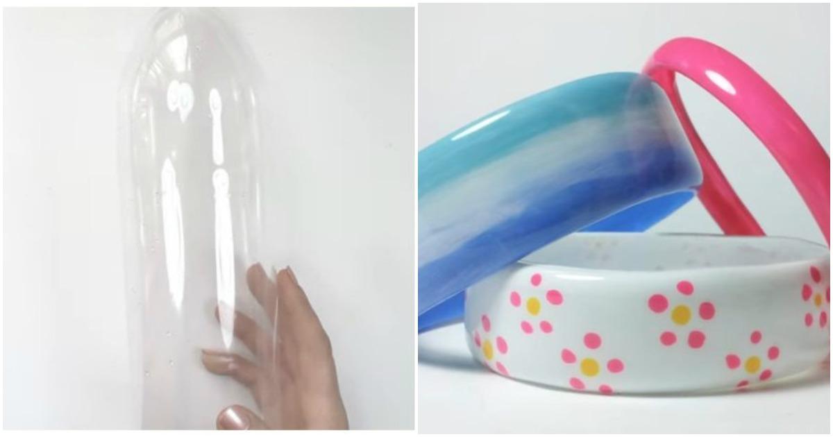 Необычная идея применения пластиковой бутылки