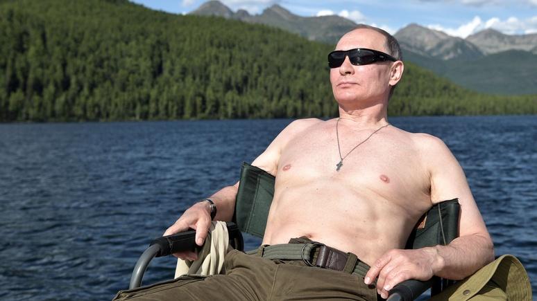 New York Times: летний отпуск Владимира Путина — сибирский альбом