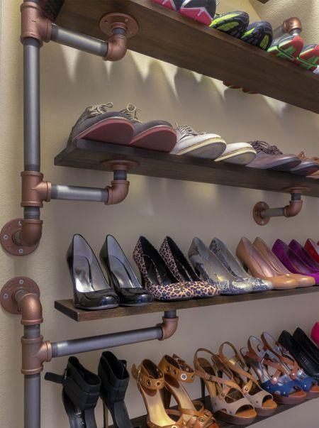 Стеллажи для обуви