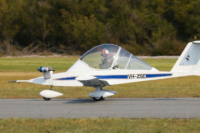 Самый маленький реактивный самолет в мире