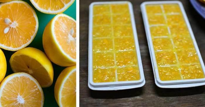 Замороженные лимоны спасут о…