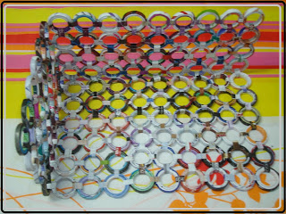 Оригинальная корзинка из газетных трубочек без плетения. МК