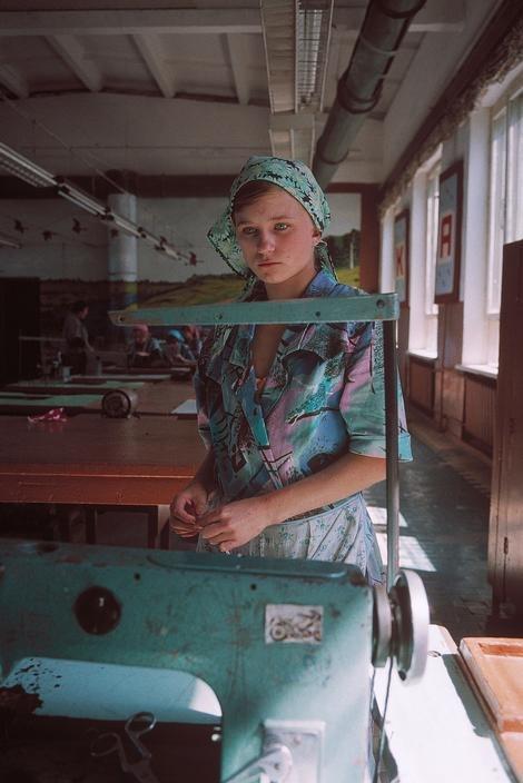 Женская воспитательная колония 1995 год, Новый Оскол.