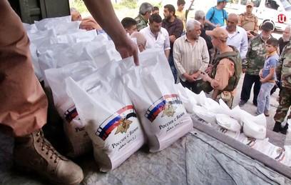 Россия экстренно отправила гумпомощь жителям Дейр-эз-Зора