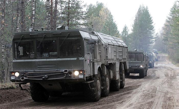 В Сухопутные войска поступило 10 бригадных комплектов ОТРК «Искандер-М»