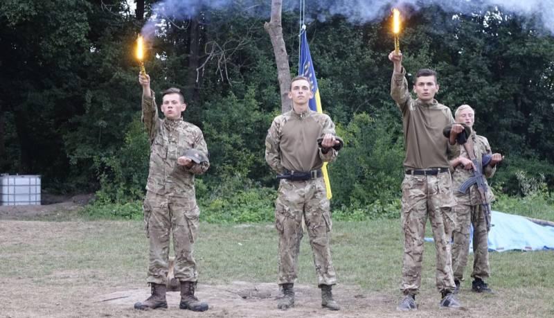 Молодая украинская гвардия. В кого ей можно целиться