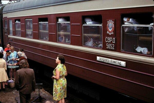 Зайцем на поезде в СССР