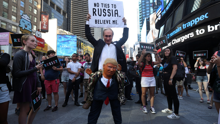 Американский юморист подвёл итоги 2017 года - Безумная вечеринка под знаком России