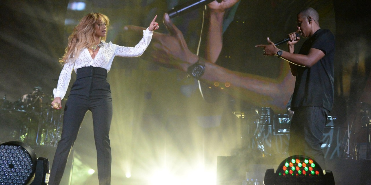 Jay Z, Beyonce Take Stage at Global Citizen Fest