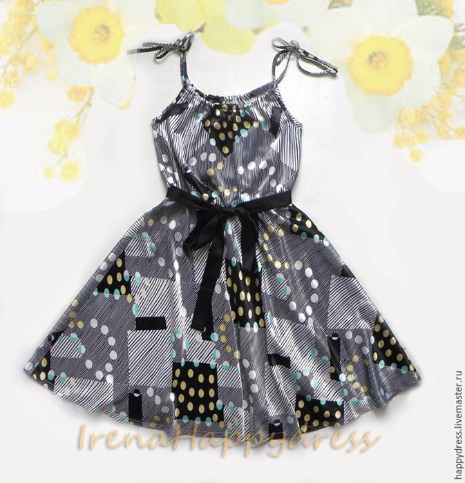 Шъём красивое летнее платье