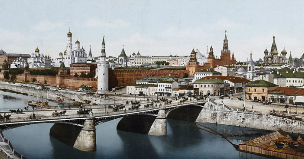 Цветные фото популярных туристических мест, сделанные более 100 лет назад