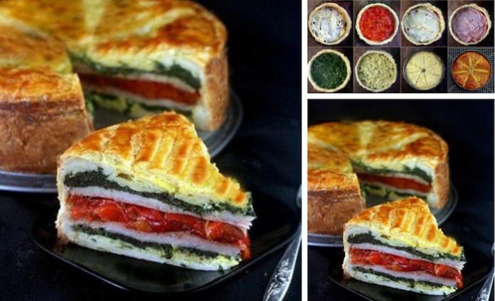 Пирог «Миланский»: Яркость ингредиентов создает взрыв вкуса