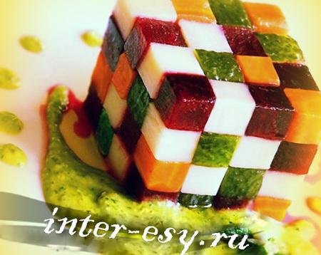 Винегрет - как сложить кубик…