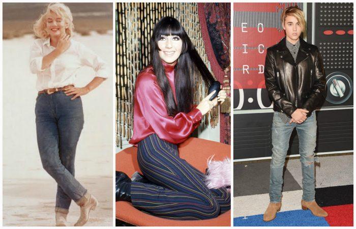 Эволюция джинсов за последние 100 лет