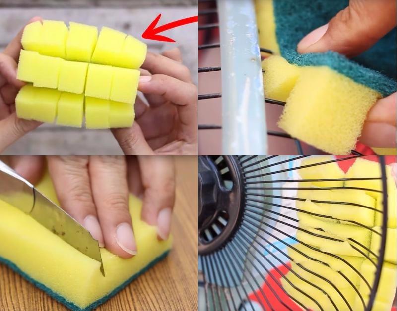 Полезные  трюки  с губками для уборки - наведение порядка это просто!