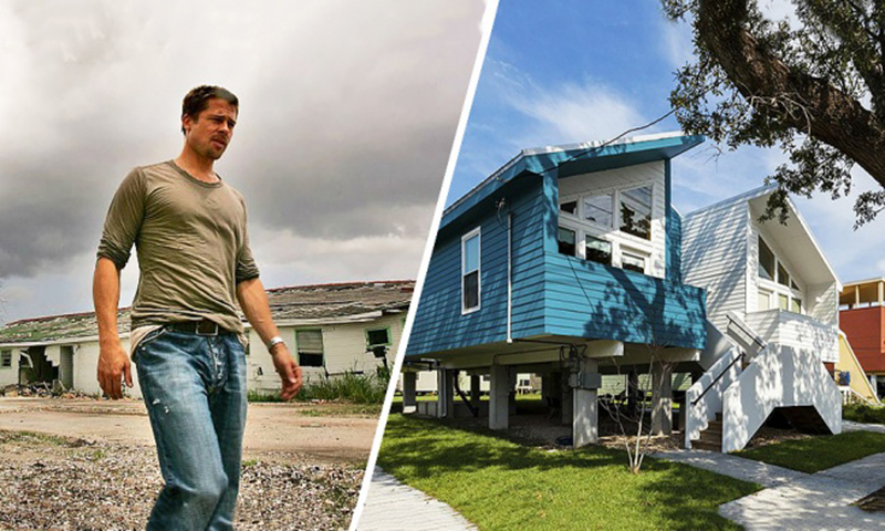 Фонд Брэда Питта построил сто домов ради благотворительности, а теперь на актера подают в суд
