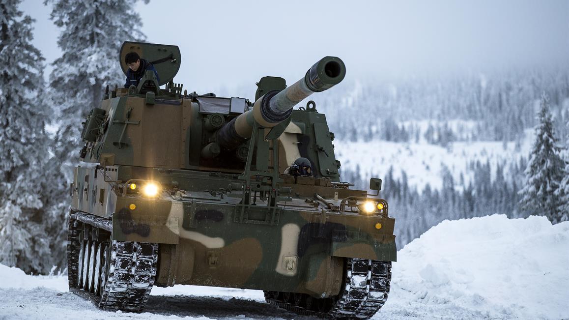 Норвегия закупает южнокорейские 155-мм самоходные гаубицы К9
