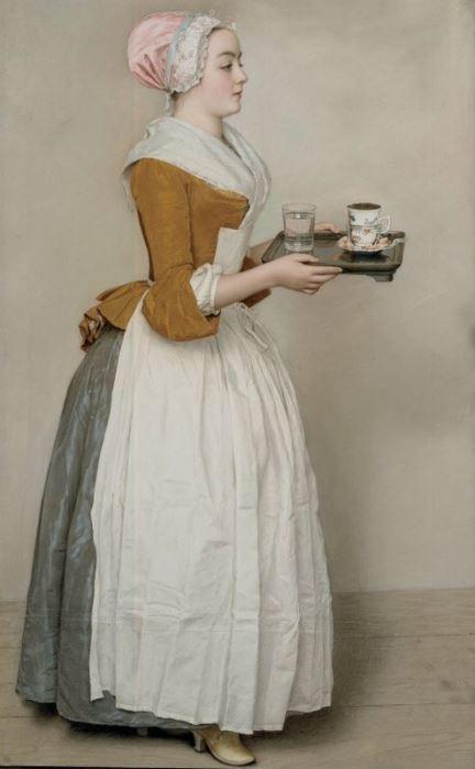 Жан-Этьен Лиотар. Шоколадница, 1745. Фото: Интернет