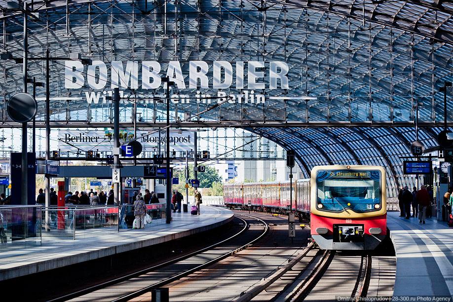 Berlin 29 Общественный транспорт Берлина