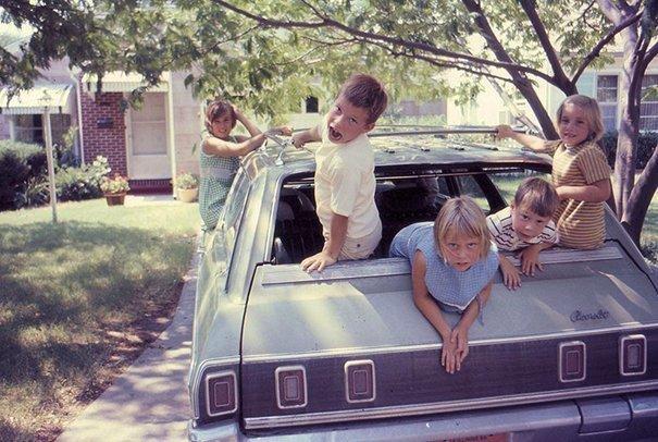 5. 60-е годы, автомобили, легковой автомобиль, старые машины, старые фото, сша, универсал, фургон