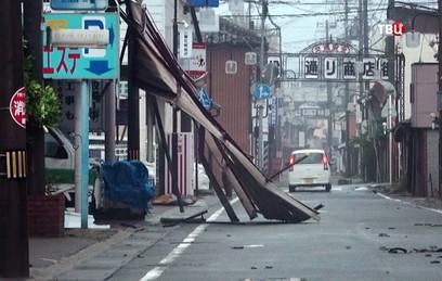"""Жертвами тайфуна """"Джеби"""" в Японии стали 11 человек"""